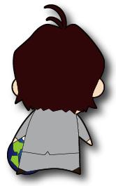 小太郎 後ろ向き